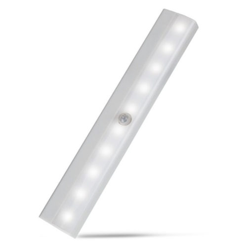 Motion Sensor Night Light with 10 LED Bulbs