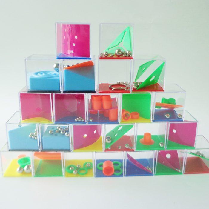 24pcs Brain Teaser Games Puzzle Cubes