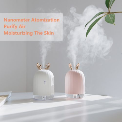 Ultrasonic Humidifier USB with LED Night Light