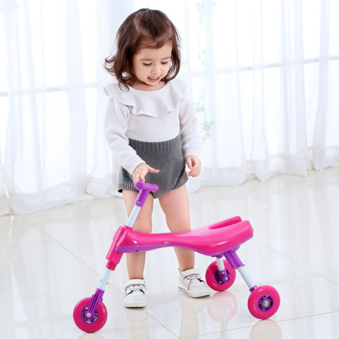 Toddler Tricycle Glide Bike Ride