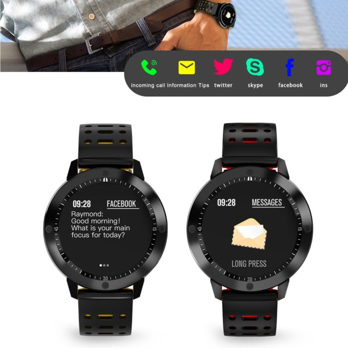 Fitness Tracker Waterproof Smartwatch