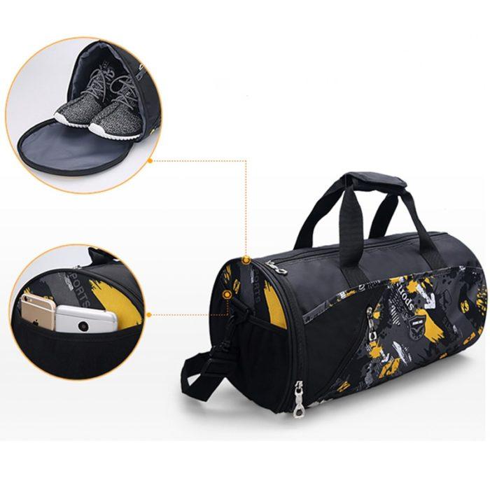 Small Gym Bag Sports Duffle Bag