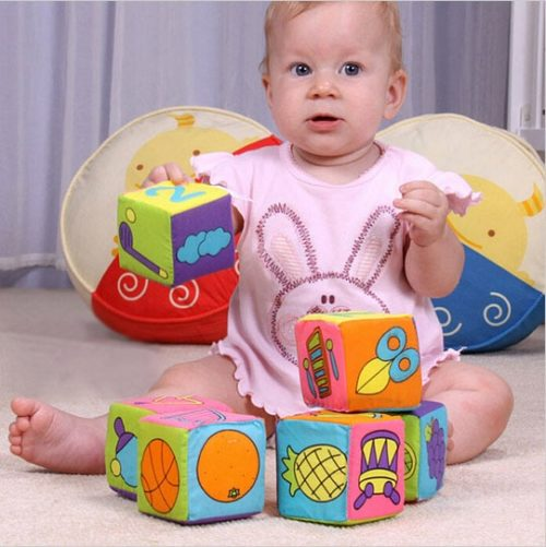 Soft Blocks Baby Cloth Toys