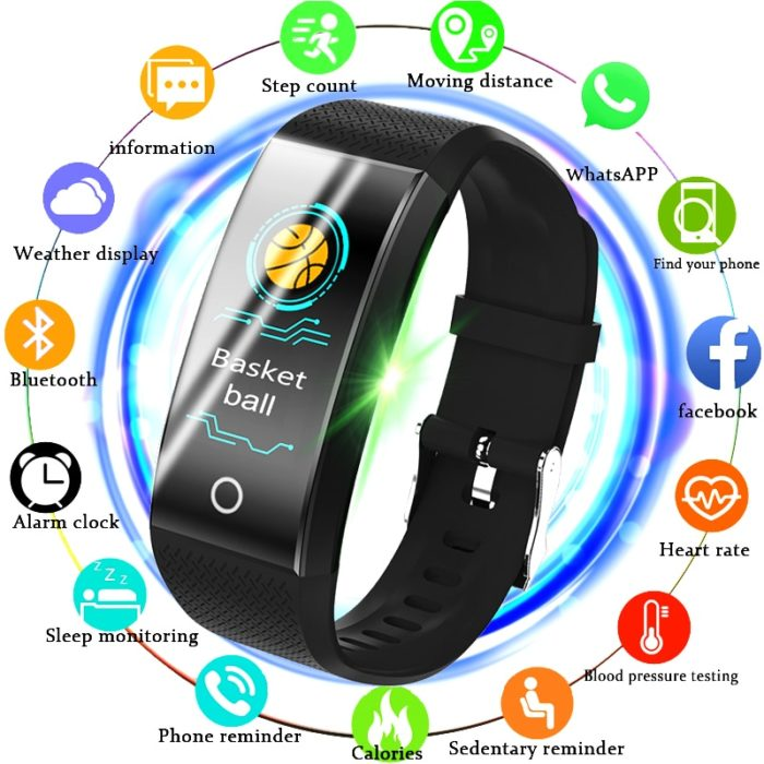 Waterproof Fitness Smartwatch for Men and Women