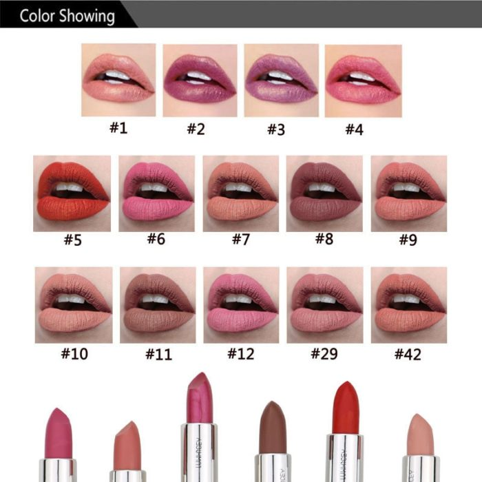 Long Lasting Lipstick Waterproof Finish