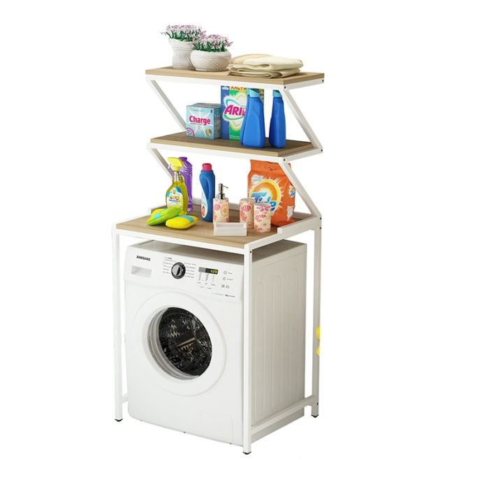 Laundry Shelves Room Storage Rack