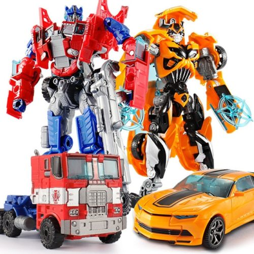 Robot Car Transformable Action Figure