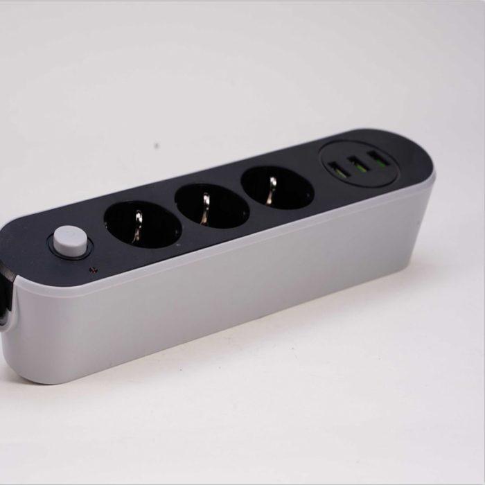 Smart USB Power Strip Socket