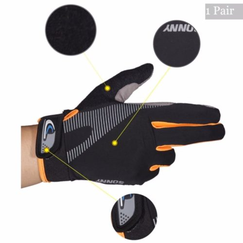 Elastic Thermal Gloves Sportswear