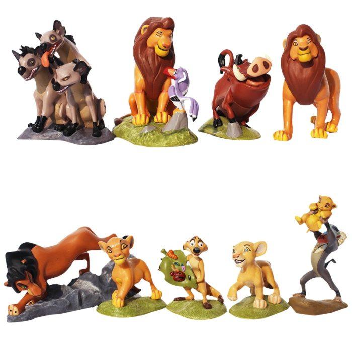PVC Lion King Toy Figures