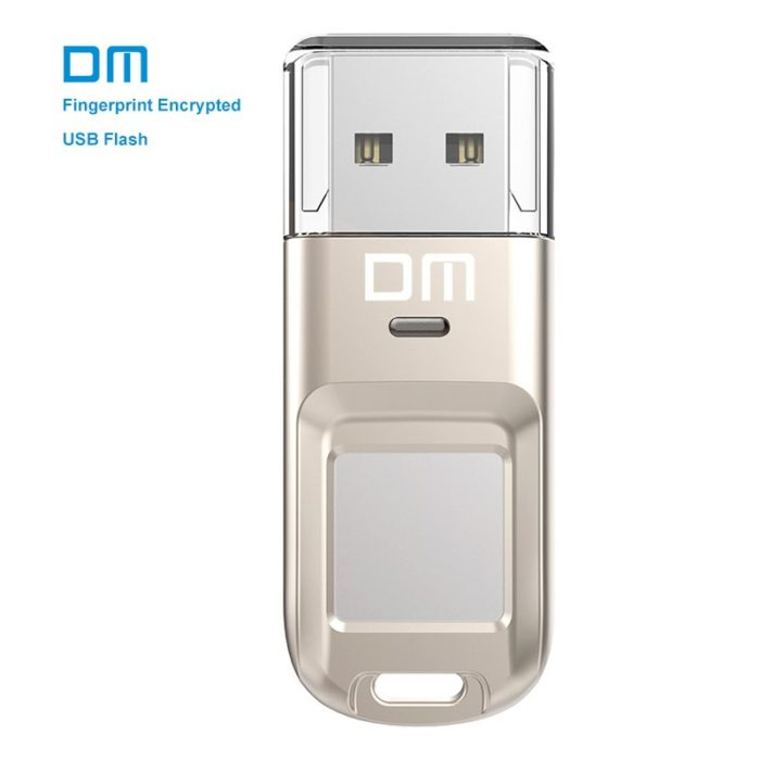 USB Drive Fingerprint Encrypted