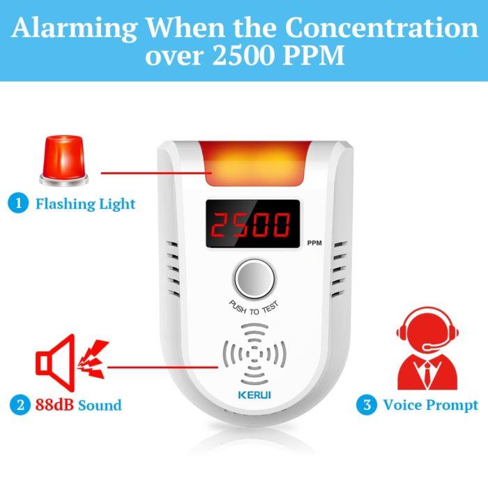 Gas Leak Detector LPG Alarm