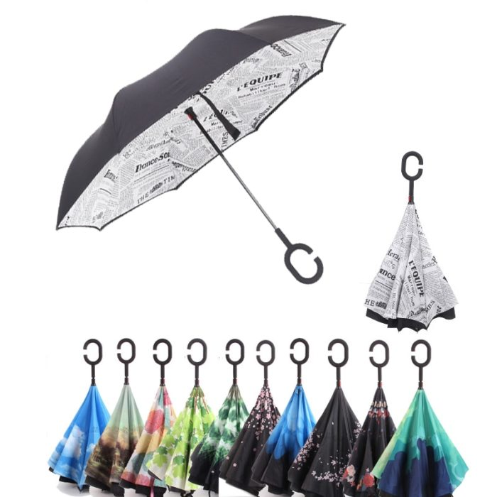 Reversible Umbrella Windproof