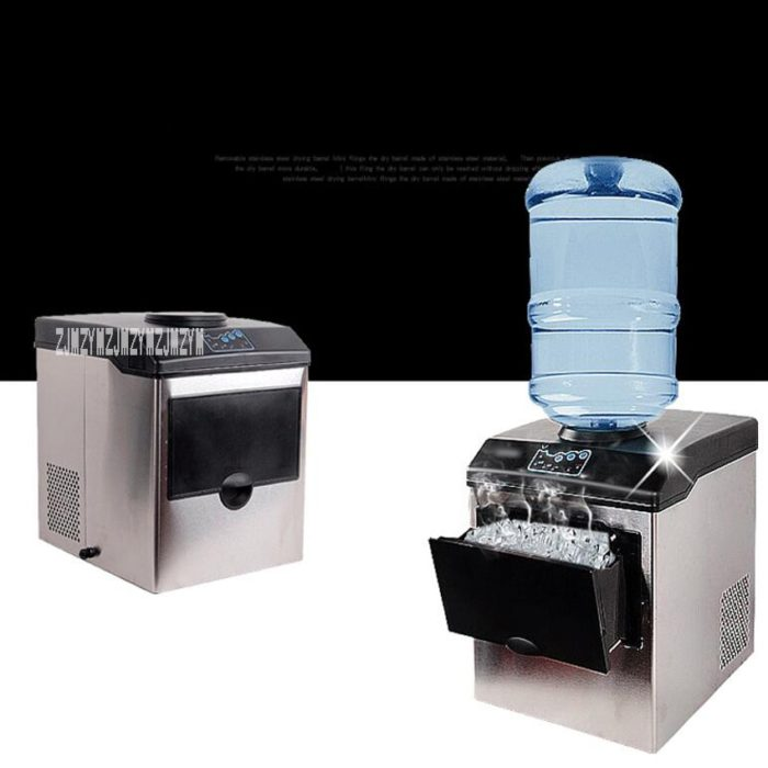 2in1 Ice Maker Machine Water Dispenser