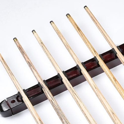 Pool Cue Rack Wood Hanging Holder