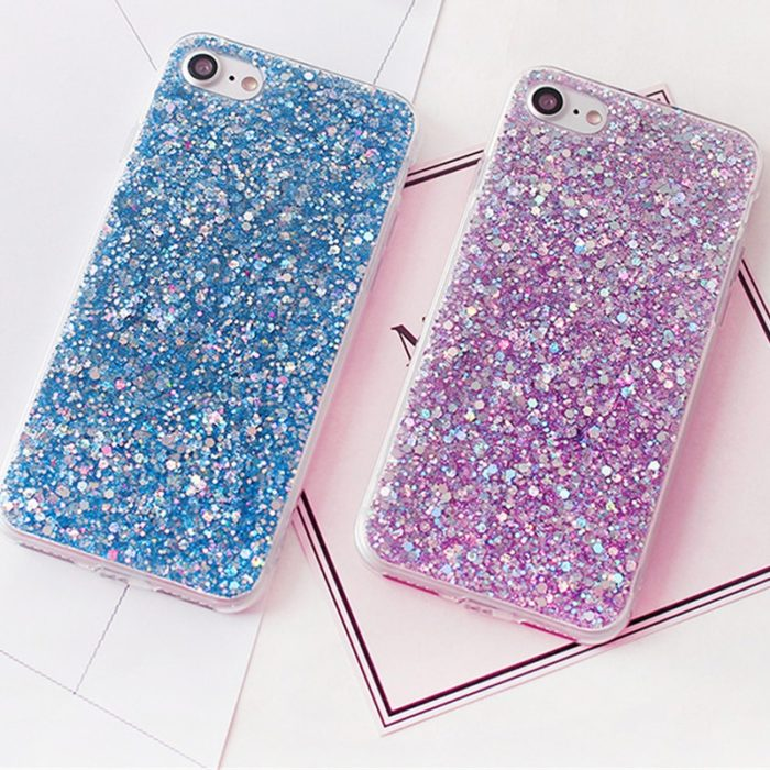 Glitter Phone Cases for iPhone and Samsung
