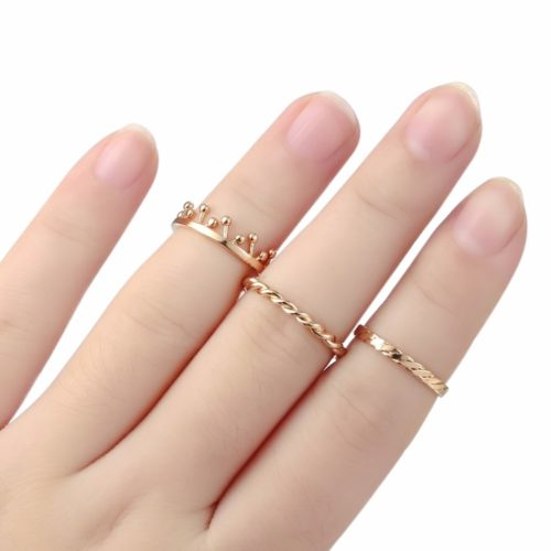Dainty Rings Minimalist Women Jewelry