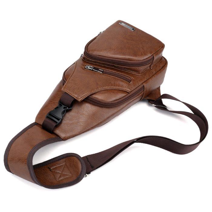 Vintage Bags Inbuilt USB Charger