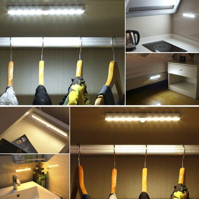 Motion Detector Lights Strip Lamp