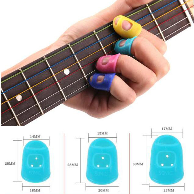 4pcs Guitar Accessories Finger Protector