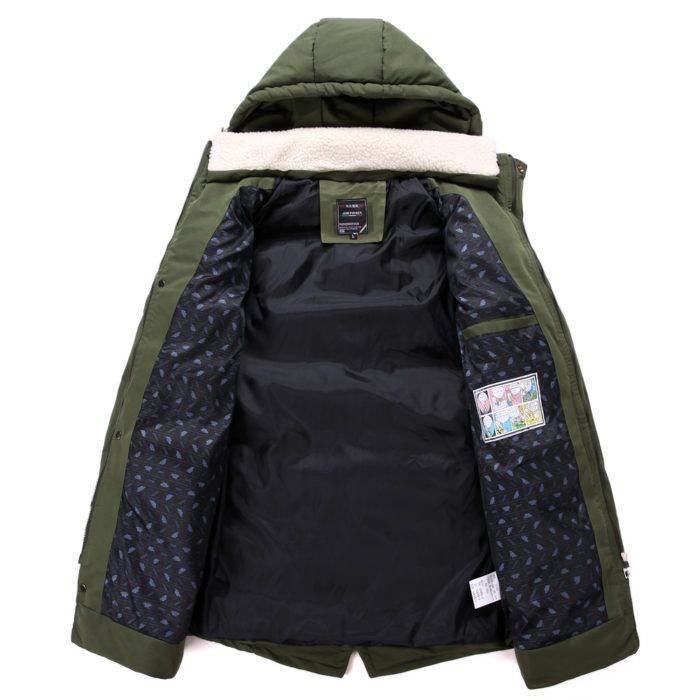 Waterproof Jacket Hooded Down Outerwear