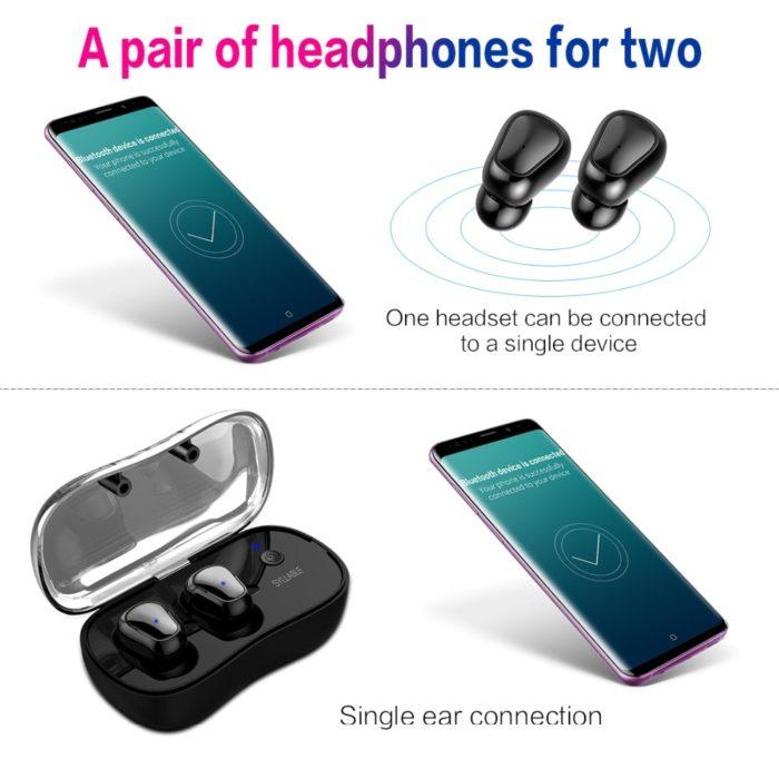 Waterproof Wireless Bluetooth Earbuds