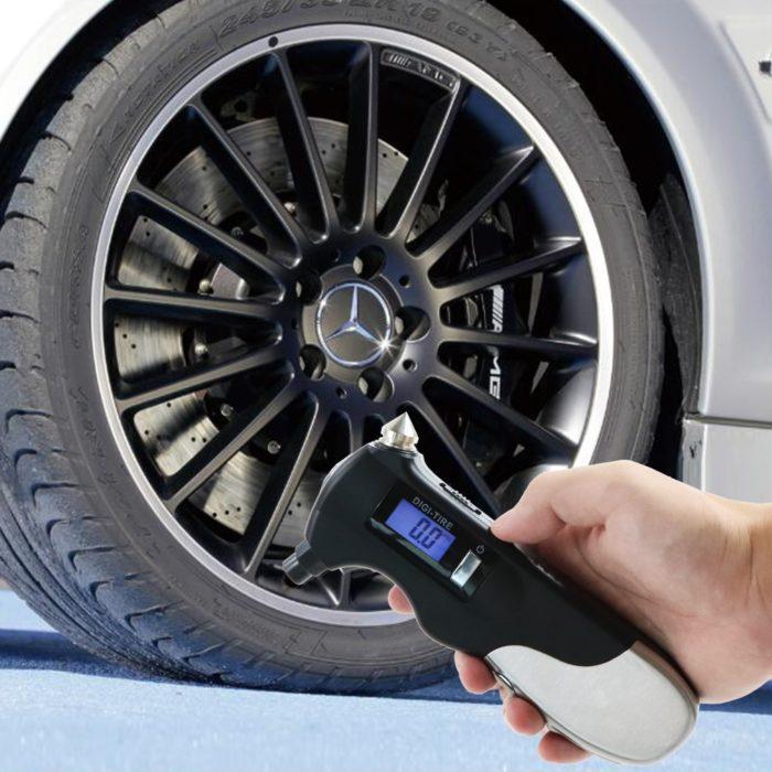 8 in 1 Digital Tire Pressure Gauge