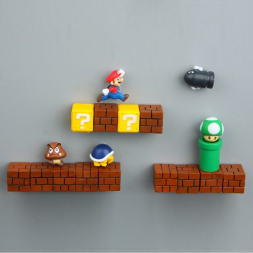 Refrigerator Magnets Super Mario Display