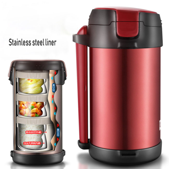 Thermos Lunch Box Insulated Barrel