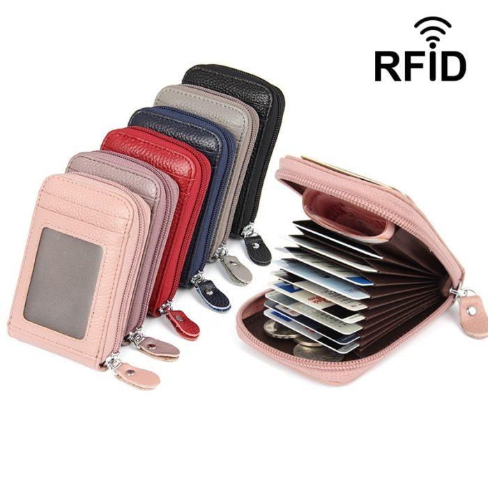 Card Holder Wallet Leather Case