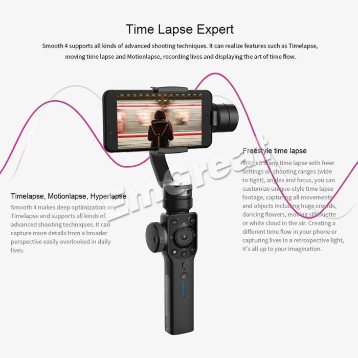 Smartphone Gimbal Camera Stabilizer
