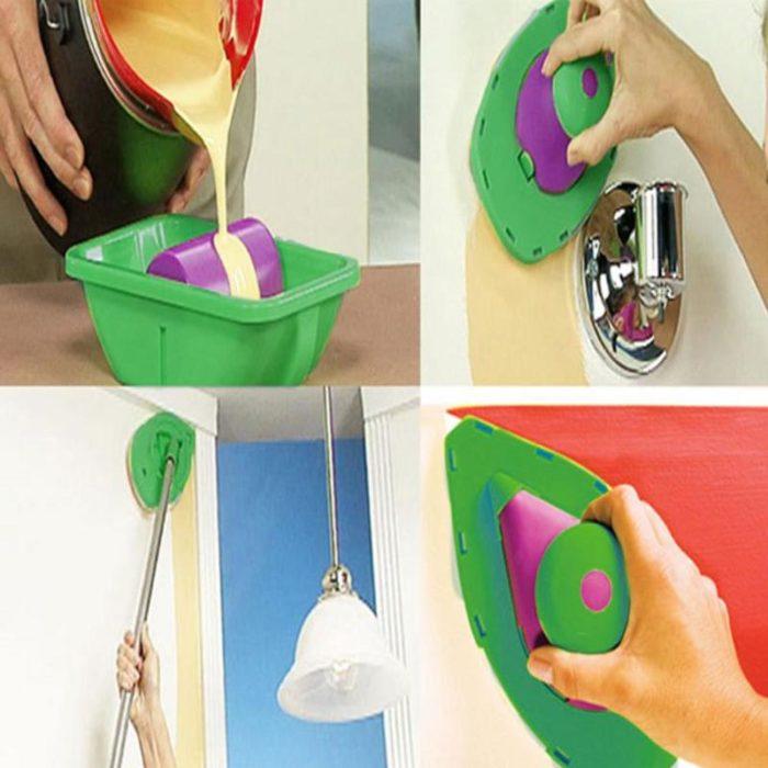 9pcs Paint Brush Set Household Tools