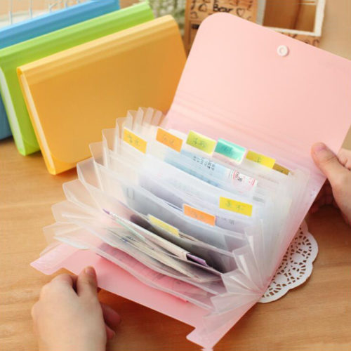 Expanded Envelope A6 File Folder