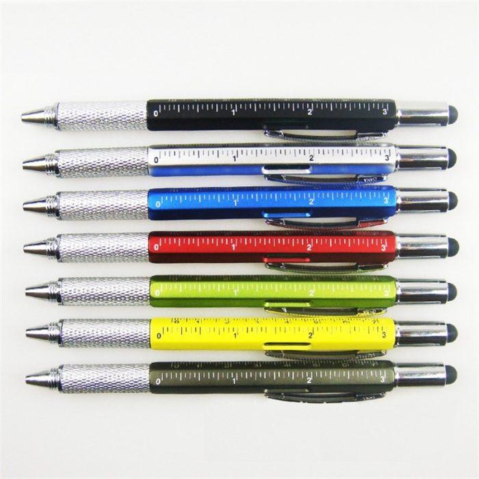 Ballpoint Pen 7 in 1 Multifunction Tool