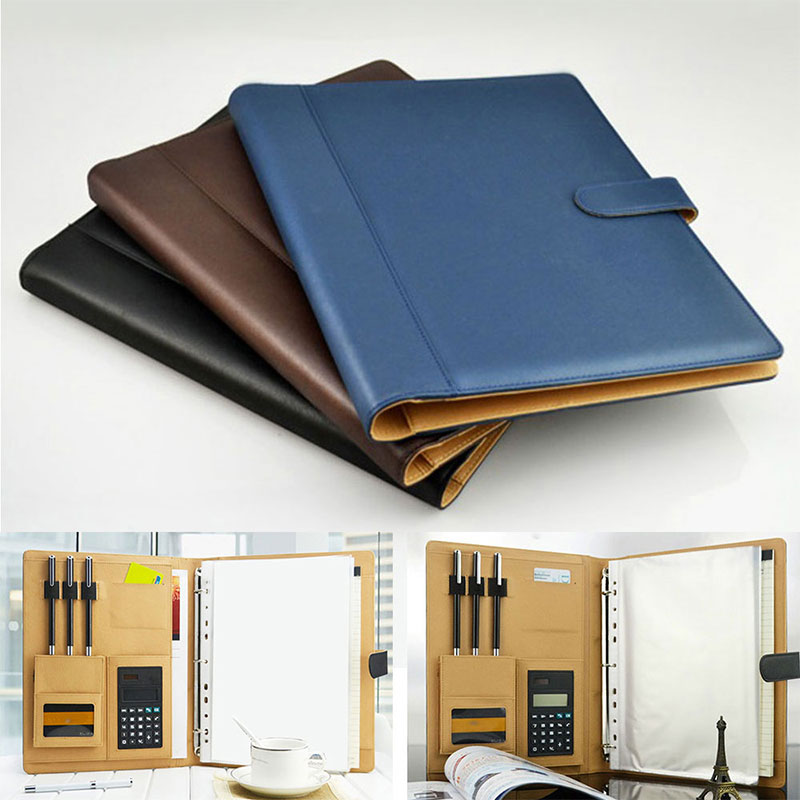 3 Ring Binder Folder With Calculator Life Changing Products