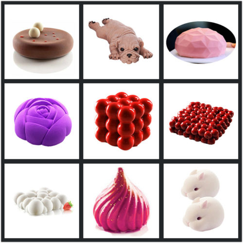 Silicone Moulds 3D Cake Shapers