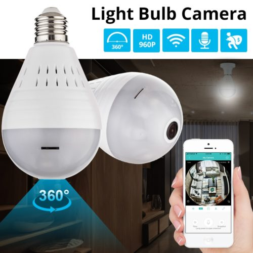 Wireless Camera - Home Surveillance LED Light