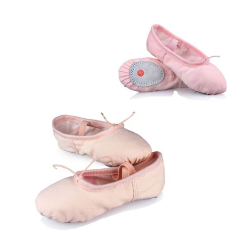 Ballet Shoes Soft Cotton Canvas