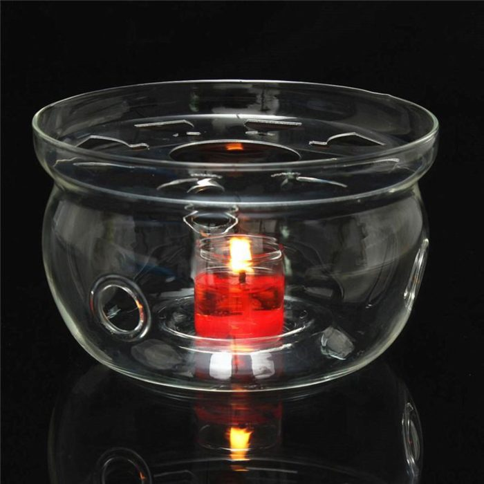 Glass Teapot Heat-Resistant Warmer
