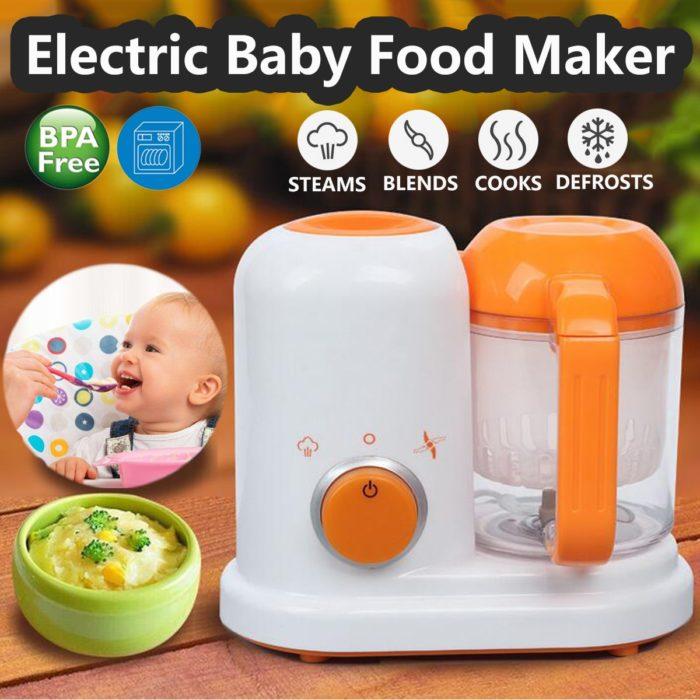 Baby Food Blender Electric Steamer