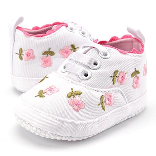 Baby Girl Shoes Floral Booties
