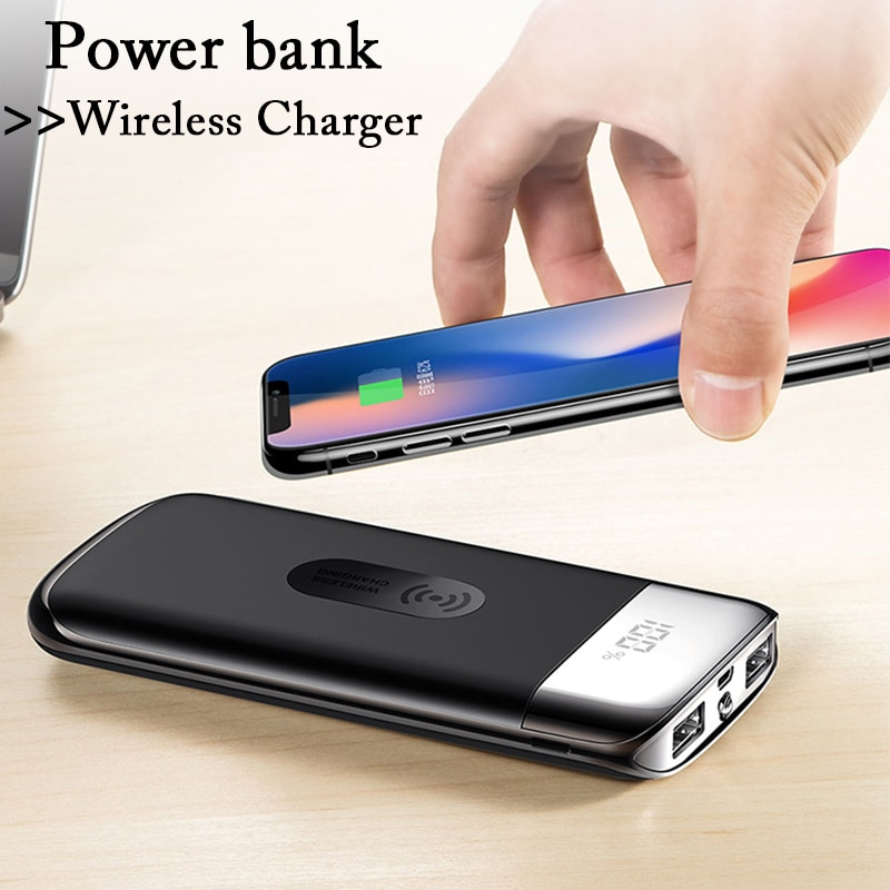power bank 30000mah wireless charging life changing products. Black Bedroom Furniture Sets. Home Design Ideas