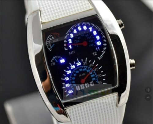Digital Wrist Watch LED Band
