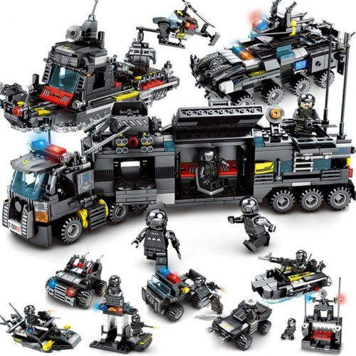 Building Blocks Set SWAT Figure Toys