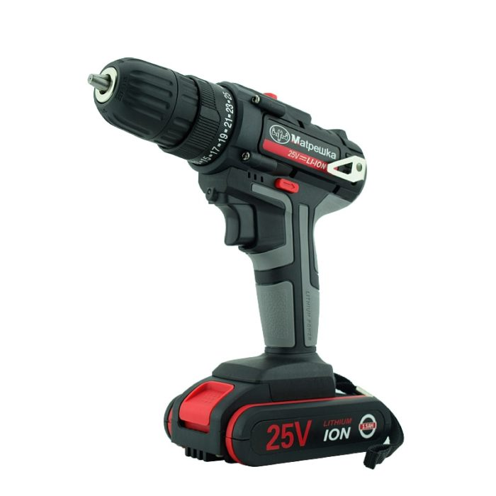 Cordless Drill Hand-held Rechargeable