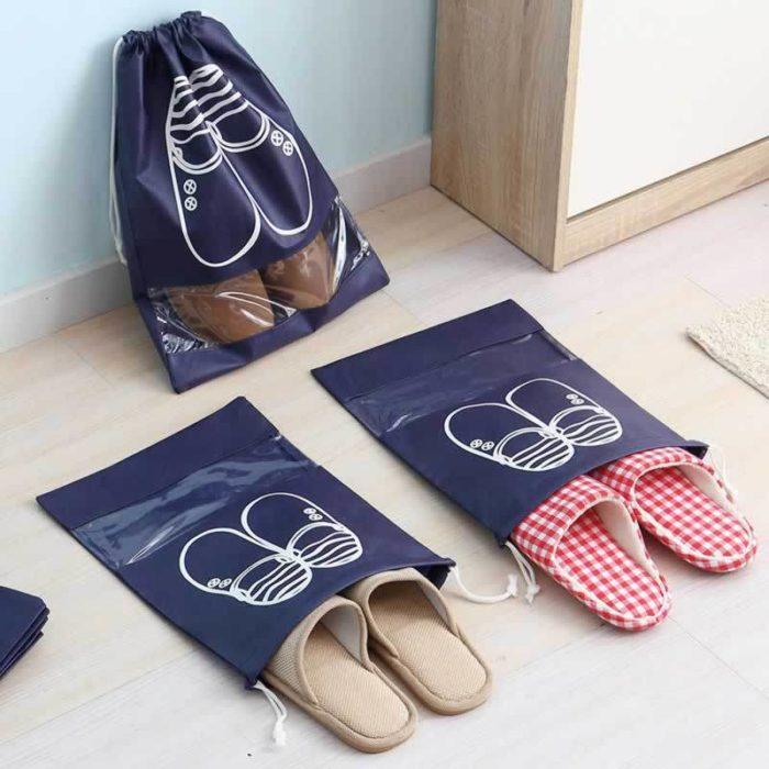 Shoe Bag Waterproof Organizer Pouch