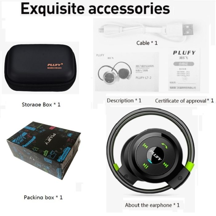 Headset Wireless Audio Piece