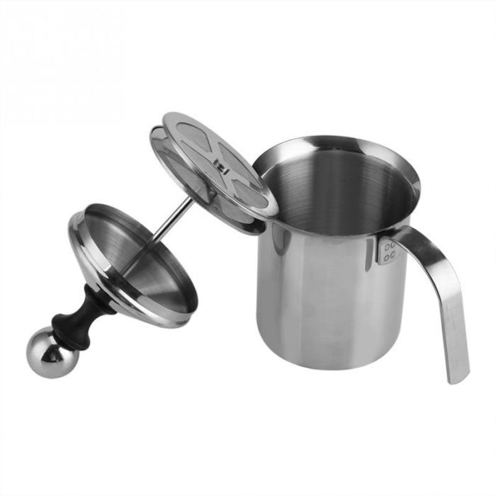 Milk Foam Maker Stainless Steel Manual Frother