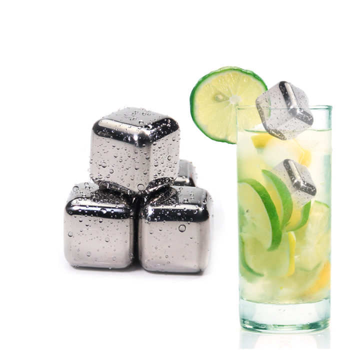 Whiskey Rocks Stainless Steel Ice Cubes