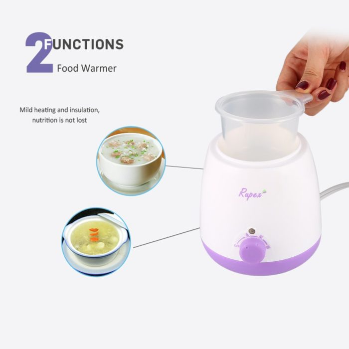 3in1 Portable Bottle Warmer Sterilizer